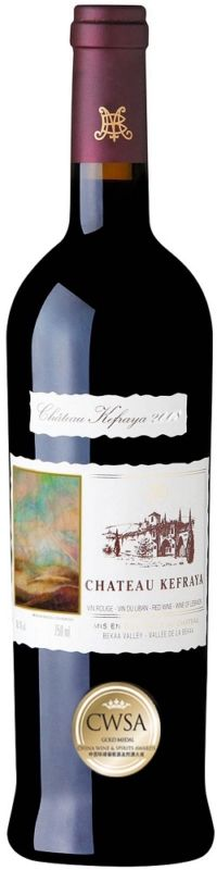 Vino Tinto Chateau Kefraya Red 2008 - 750mL