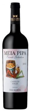 Vino Tinto Bacalhôa Meia Pipa Private Selection Castelão Syrah 2014 - 750mL