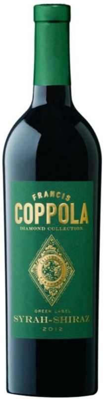 Vino Tinto Francis Coppola Diamond Collection Syrah-Shiraz 2013 - 750 mL